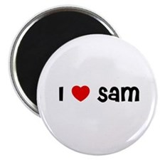 "I * Sam 2.25"" Magnet (10 pack)"