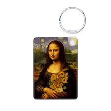 Mona Van Gogh V2 Keychains