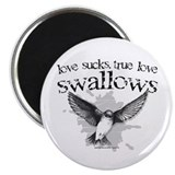 True Love Swallows Magnet