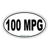 100 MPG Euro Decal