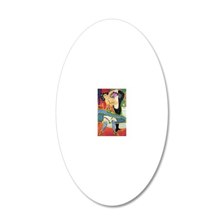 15 20x12 Oval Wall Decal