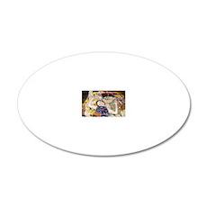 Bag Klimt V 20x12 Oval Wall Decal