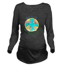 NICU Nurse 2012 4 ba Long Sleeve Maternity T-Shirt