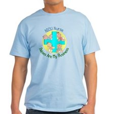 NICU Nurse 2012 4 babies Green T-Shirt