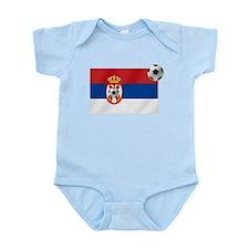 Serbian Football Flag Onesie