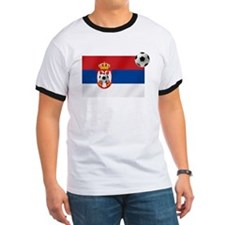 Serbian Football Flag T
