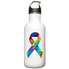 tiedye-justribbon Water Bottle