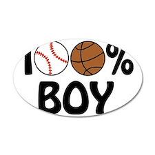 100% Boy Wall Sticker