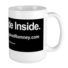 Dogs Against Romney bumber-rusty-I ride Mug