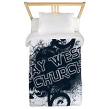 BAY WEST CHURCH - back-more glow Twin Duvet