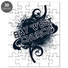 BAY WEST CHURCH - back-more glow Puzzle