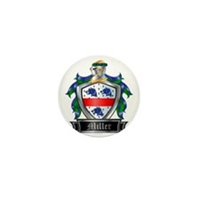 MILLER COAT OF ARMS FAMILY CREST Mini Button