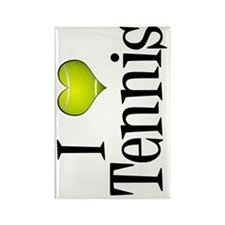 ilovetennissigg Rectangle Magnet