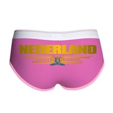 Netherlands (Flag 10) pocket 2 Women's Boy Brief