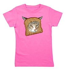 Cat Breading 02 copy Girl's Tee