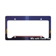 6x14framedprint_911_withskyli License Plate Holder