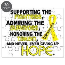 D Sarcoma Supporting Admiring Honoring 3.2 Puzzle