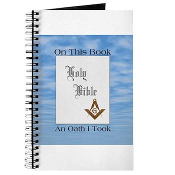 Masonic Treasures. The oath. Journal