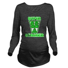green2, SS Cup, fres Long Sleeve Maternity T-Shirt
