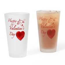 ValentineDay Drinking Glass
