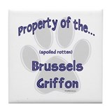 Brussels Griffon Property Tile Coaster