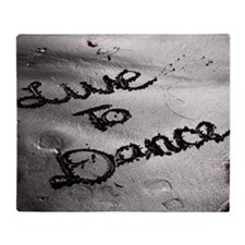Live To Dance Throw Blanket