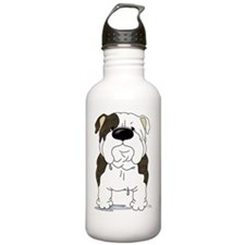 BrindleBulldogShirtFro Sports Water Bottle