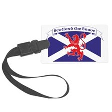 Scotland the Brave 1 Luggage Tag