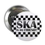 SKA is my friend Button