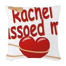 rachel-g-lassoed Woven Throw Pillow