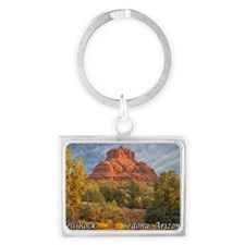 bell rock_full text Landscape Keychain