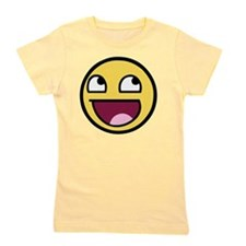 Awesome Face Girl's Tee