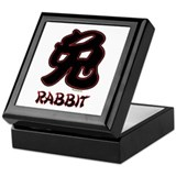 Chinese Rabbit (3) Keepsake Box