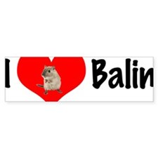 I_heart_Balin Bumper Sticker