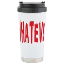 WHATEVER Ceramic Travel Mug