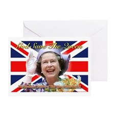 Queen Elizabeth Diamond Jubilee Greeting Card