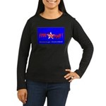 Free Yourself Women's Long Sleeve Dark T-Shirt