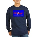 Free Yourself Long Sleeve Dark T-Shirt
