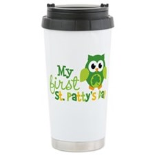 Owl1stStPatricksDay Ceramic Travel Mug