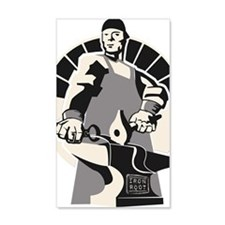Black_smith_giant-grey Wall Decal