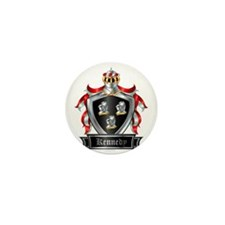 KENNEDY COAT OF ARMS Mini Button
