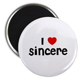 I * Sincere 2.25&quot; Magnet (10 pack)
