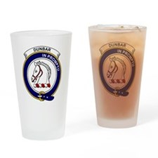Dunbar Clan Badge Drinking Glass