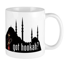 Got Hookah with mosque Mug