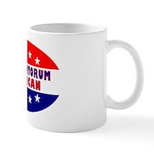 OvalStickerRickSantorumAmerican Mug