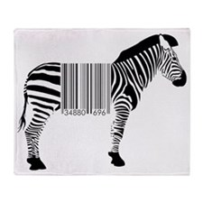 Zebra for sale Throw Blanket
