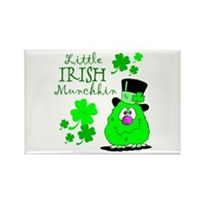 Little Irish Munchkin Rectangle Magnet
