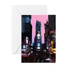 times_square_note Greeting Card