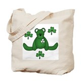 St. Paddy's Day Bear Tote Bag