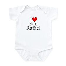 """""""I Love San Rafael"""" Infant Bodysuit"""